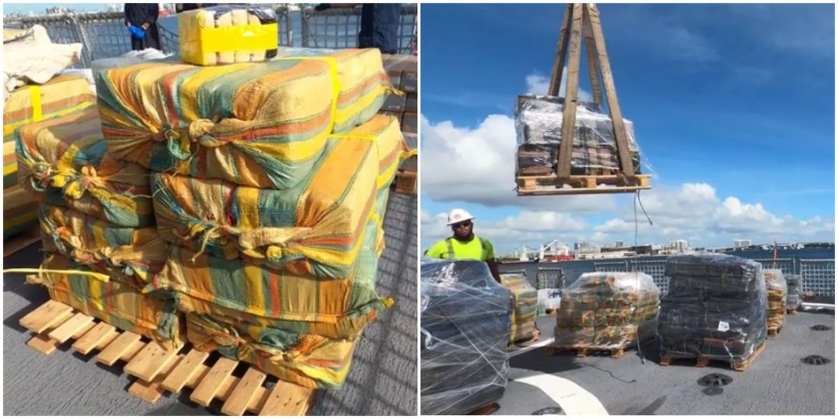A Mountain Of Drugs Worth $216 Million Has Just Been Seized In Florida (PHOTOS)