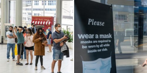 Face Masks In Ontario Won't Be Required Forever & Here's When You Can Stop Wearing Them