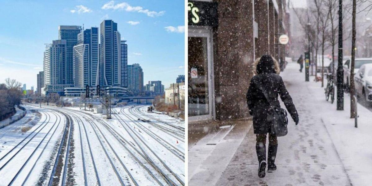 Canada's Winter Forecast Has Dropped Already & It's Going To Be A 'Frosty Flip-Flop'