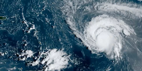 A 'Major' Hurricane Is Raging Over Atlantic Waters RN & It Could Be Heading For Canada