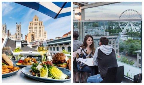 11 terrasses magnifiques qui rouvrent à Montréal où aller manger cet été