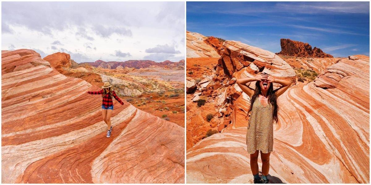 You Can Wander Through 'Pumpkin Spice' Hills Near Las Vegas This Fall