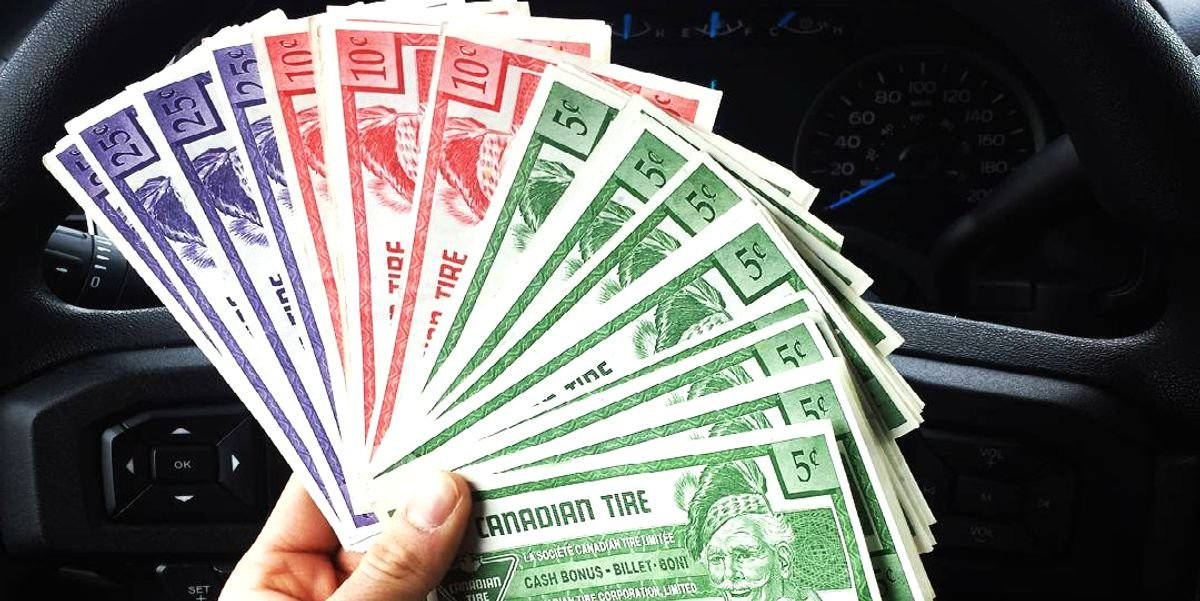 Your Old Canadian Tire Money Might Now Be Worth Thousands