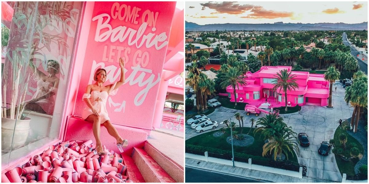Don't Freak Out But You Can Actually Rent Barbie's Dream House In Las Vegas Right Now