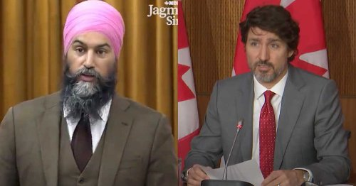 Jagmeet Singh Says 'Canada Is On Fire' As COVID-19 Cases Continue To Climb (VIDEO)