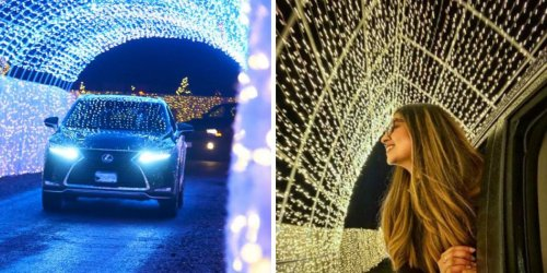 This Christmas Drive-Thru In BC Has 1 Million Twinkling Lights & It's Super Magical