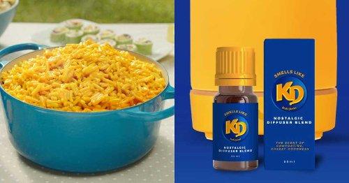 Kraft Dinner sort un kit d'huiles essentielles et on espère que c'est un poisson d'avril