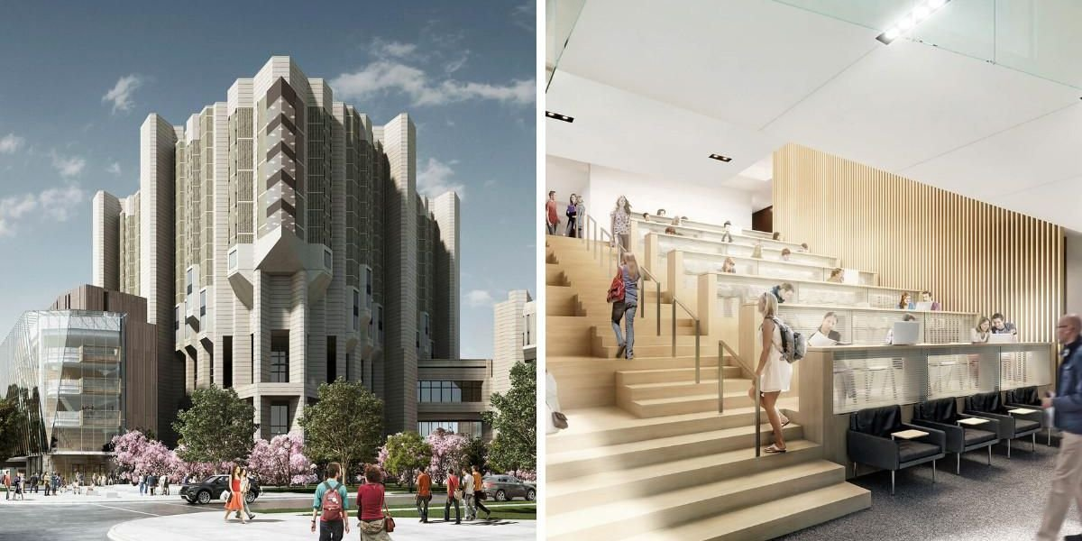 U Of T's Robarts Library Is Getting Completely Transformed With So Much Glass (PHOTOS)