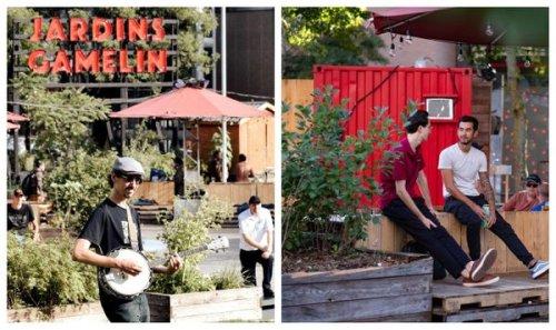 Les Jardins Gamelin rouvrent ce week-end à Montréal et c'est idéal pour ta prochaine date