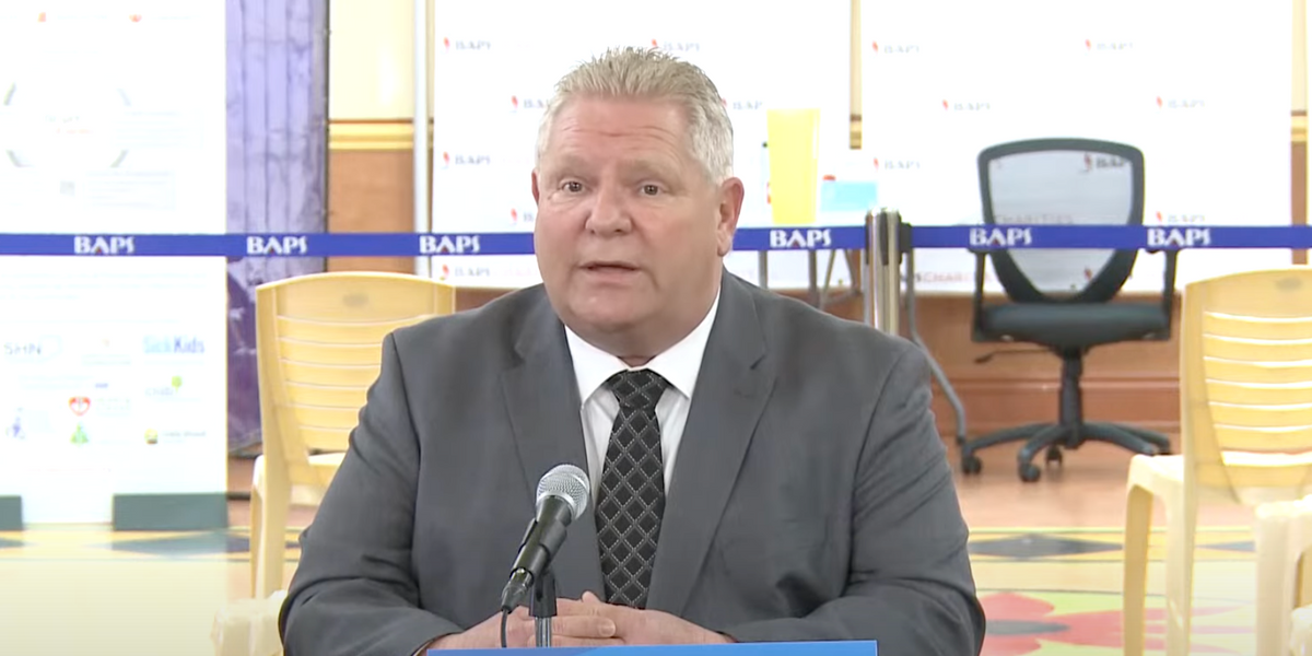 Ford 'Can't Wait' To Keep Reopening Ontario & He's In Talks To Make It Happen Faster