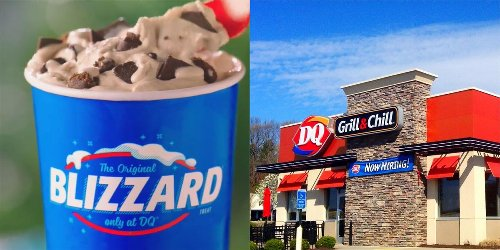 Dairy Queen's Summer Blizzard Menu Is Back & There's One With Girl Guide Cookies