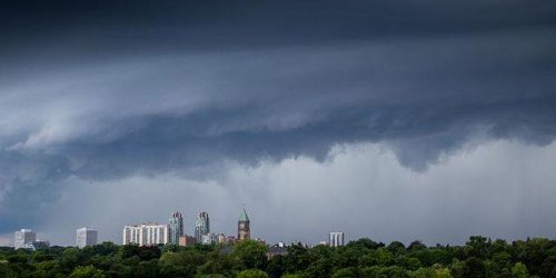 Parts Of Ontario Are At Risk For Heavy Rain, Large Hail & Tornadoes Today