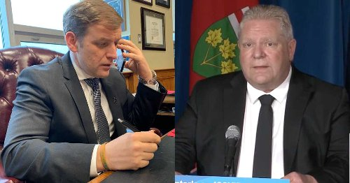 Canadian Premiers Are Responding To Doug Ford's Plea For More COVID-19 Resources