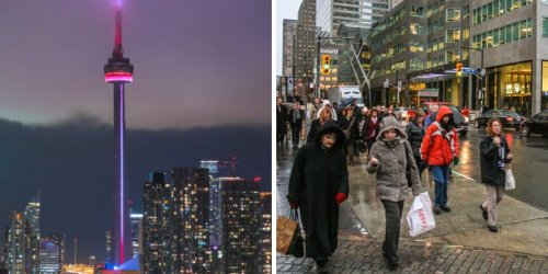 Toronto Has A Special Weather Statement & Your Friday Plans Will Be Ruined By So Much Rain