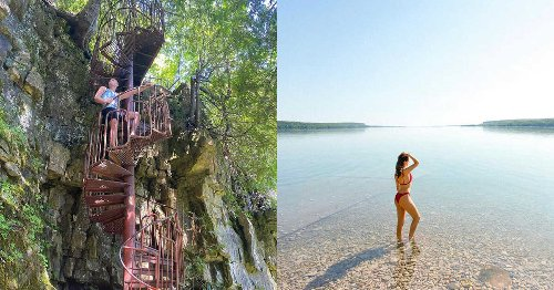 You Can Wander Past Breathtaking Ruins & Crystal Waters At This Secret Ontario Trail