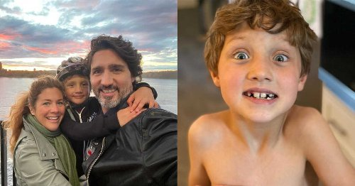 The Youngest Trudeau Kid Lost A Tooth & He Looks So Much Like The PM As A Child (PHOTOS)