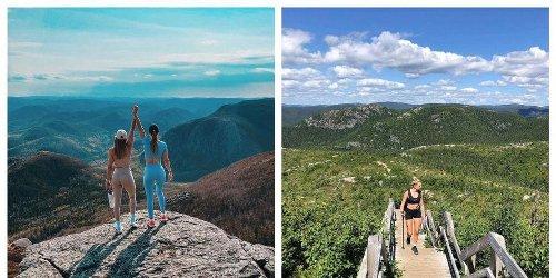 Ce mont à 1 h 30 de Québec est le hike à faire avec ta personne préférée cet été
