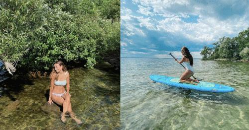 Cette plage à l'eau turquoise près de Montréal va te donner l'impression d'être en voyage