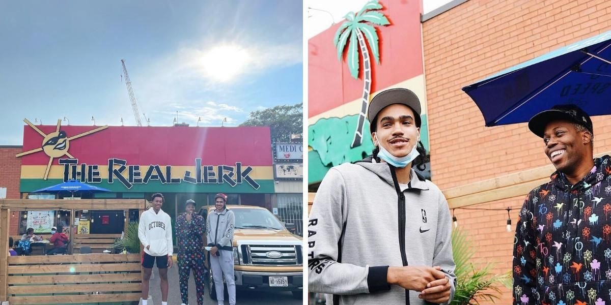 The Newest Raptors Members Are Exploring The 6ix & Hit Up The Real Jerk Over The Weekend
