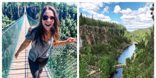 Canada's Longest Suspension Bridge Will Let You Walk Over A Giant Canyon In Ontario