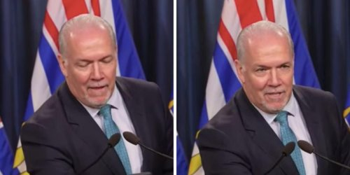 BC's Premier Just Went On A Random Rant About His Phone & It's Just So Awkward (VIDEO)
