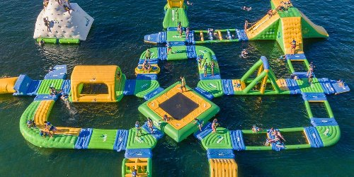 BC Is Getting Giant Floating Water Parks That Will Make You Feel Like A Kid Again