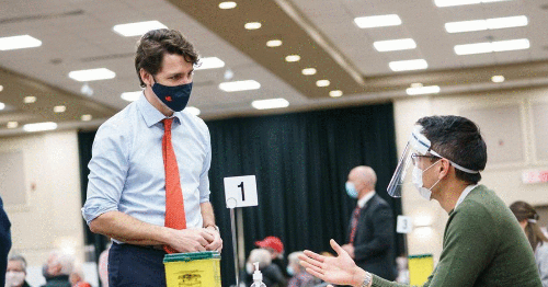 Trudeau Reminds Canadians That The Best COVID-19 Vaccine Is 'The First One Offered'