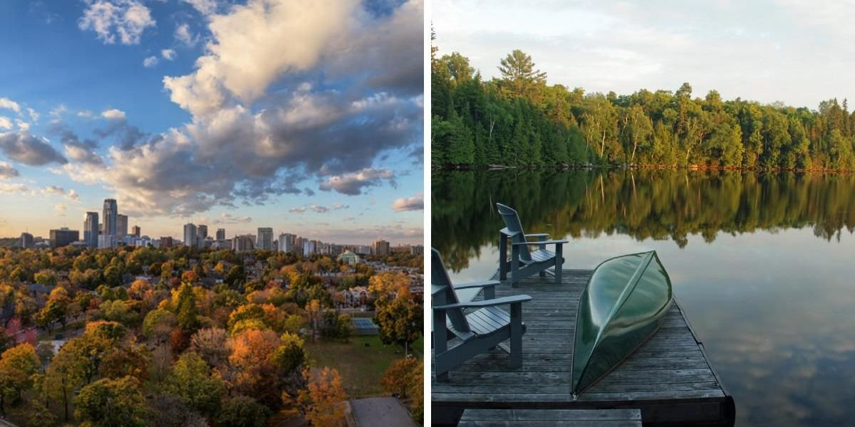 Ontario Is About To Get Hit With An Early Taste Of Fall This Weekend So Break Out Your PSL