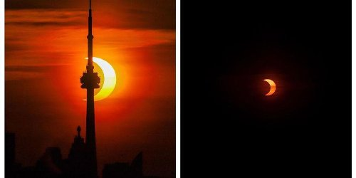 7 Stunning Photos Of The Solar Eclipse In Canada That Will Make Your Jaw Drop