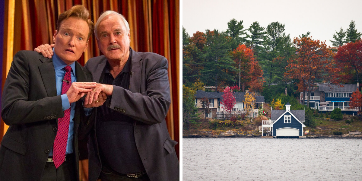 Actor John Cleese Needs A Place To Stay In Muskoka & Ontarians Are Coming To The Rescue