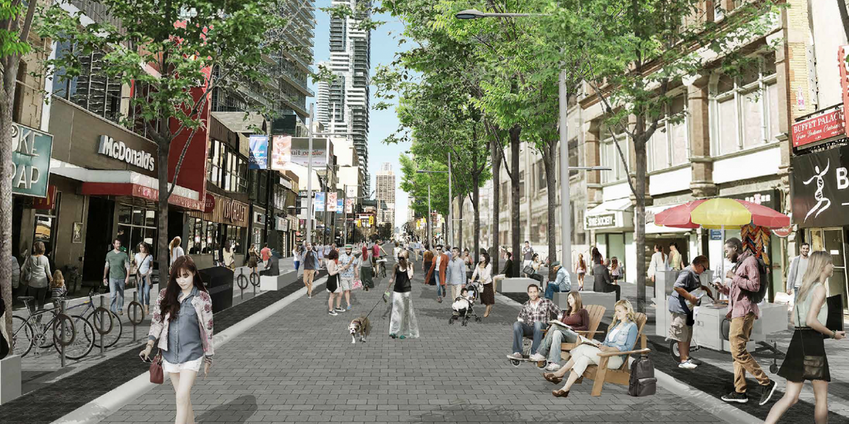 Yonge Street's About To Look Even More Like Times Square With No Cars (PHOTOS)