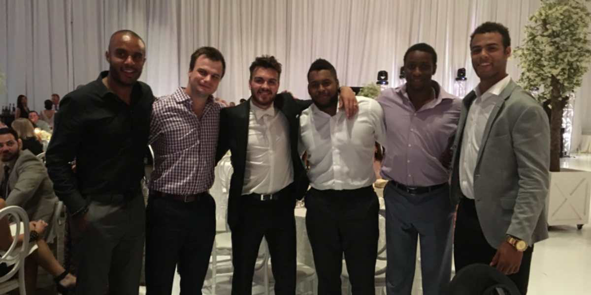 Wayne Simmonds Got Married In Toronto & The Wedding Video Is A Pre-COVID-19 Fantasy Reel