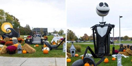This Town Near Ottawa Has Turned Into Tim Burton's 'The Nightmare Before Christmas'