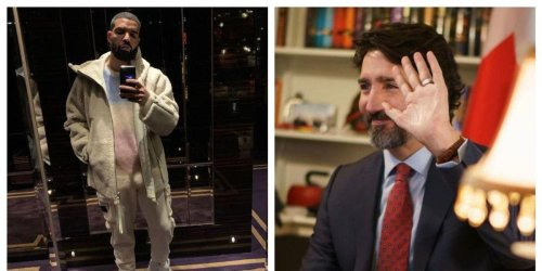 Trudeau Says Drake Isn't On His 'Personal Playlist' Right Now But Here's Who Is