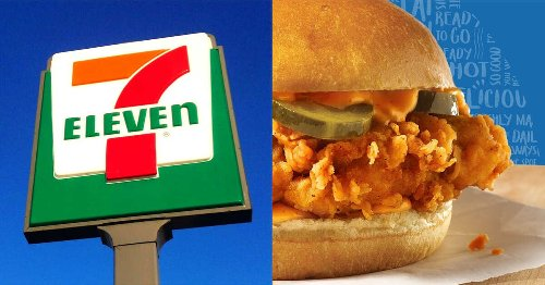 7-Eleven Has Its Own Chicken Sandwich In Canada & It's Only 7 Cents Right Now
