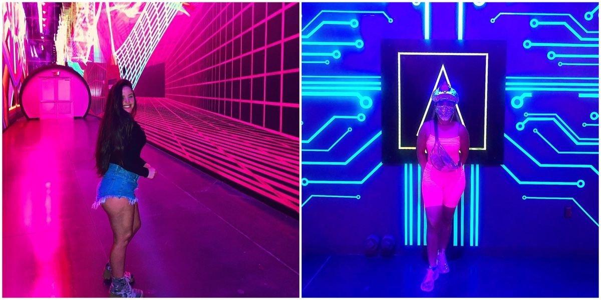 Las Vegas' New Neon Art Exhibit Looks Like A Trippy Wonderland (PHOTOS)