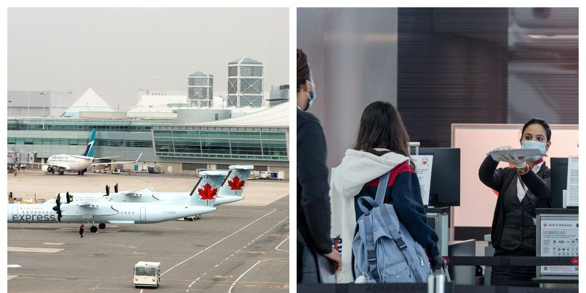 Here's What To Expect At Pearson Airport When The New Travel Rules Start Next Week