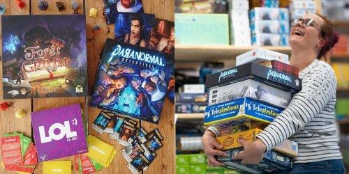 Randolph organise une vente de jeux de société à Montréal allant jusqu'à 75% de rabais