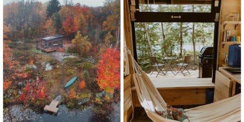 Muskoka Just Got New Tiny Cabins That Will Make The Dreamiest Getaway This Fall