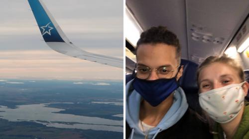 J'ai pris l'avion avec les nouvelles mesures de voyage au Canada et voici comment c'était