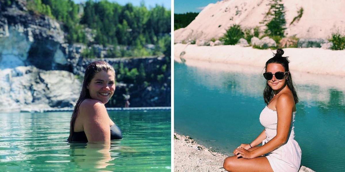 Ce bassin à 2h30 de Montréal n'a rien à envier aux eaux turquoise des Caraïbes