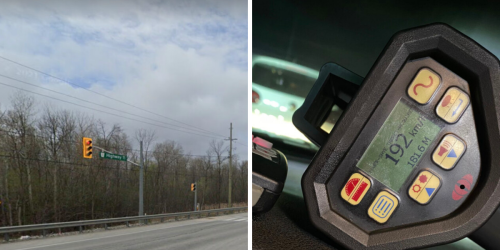 An Ontario Driver Was Caught Going Nearly 3 Times Over The Posted Speed Limit This Weekend