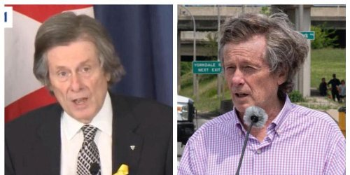 John Tory's Lockdown Hair Is More Extra Than Ever & These Pics Prove It (PHOTOS)