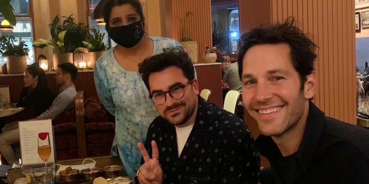 Dan Levy & Paul Rudd Were Pictured Dining Together & Everyone Noticed The Same Thing