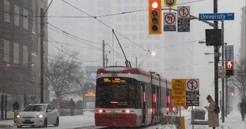 Toronto's Forecast Says We're Getting Snow This Week Because Of Course We Are