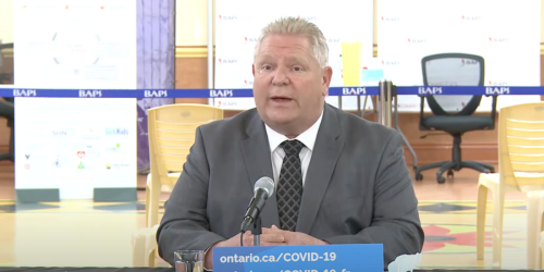 Doug Ford Says Ontario Could 'Open Up Very, Very Soon' & Summer Camps Can Go Ahead