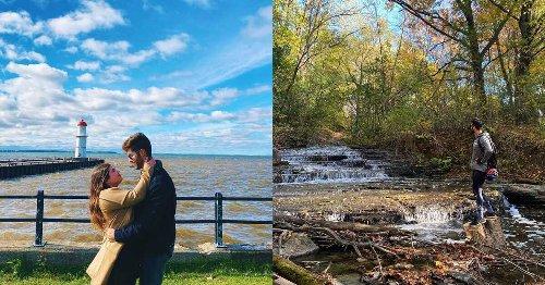 6 endroits secrets où aller en date dans les environs de Montréal ce printemps