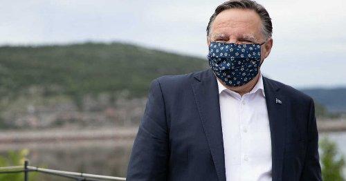 Masque obligatoire à l'extérieur : François Legault revient sur sa décision