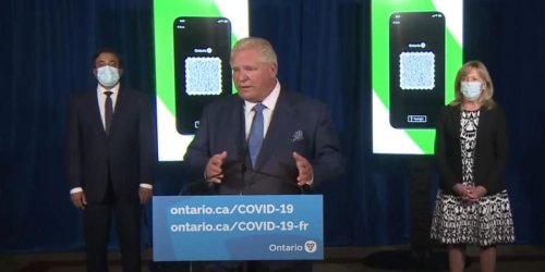 Doug Ford Is Working On A Plan To Address COVID-19 Surges Locally After Step 3 Ends