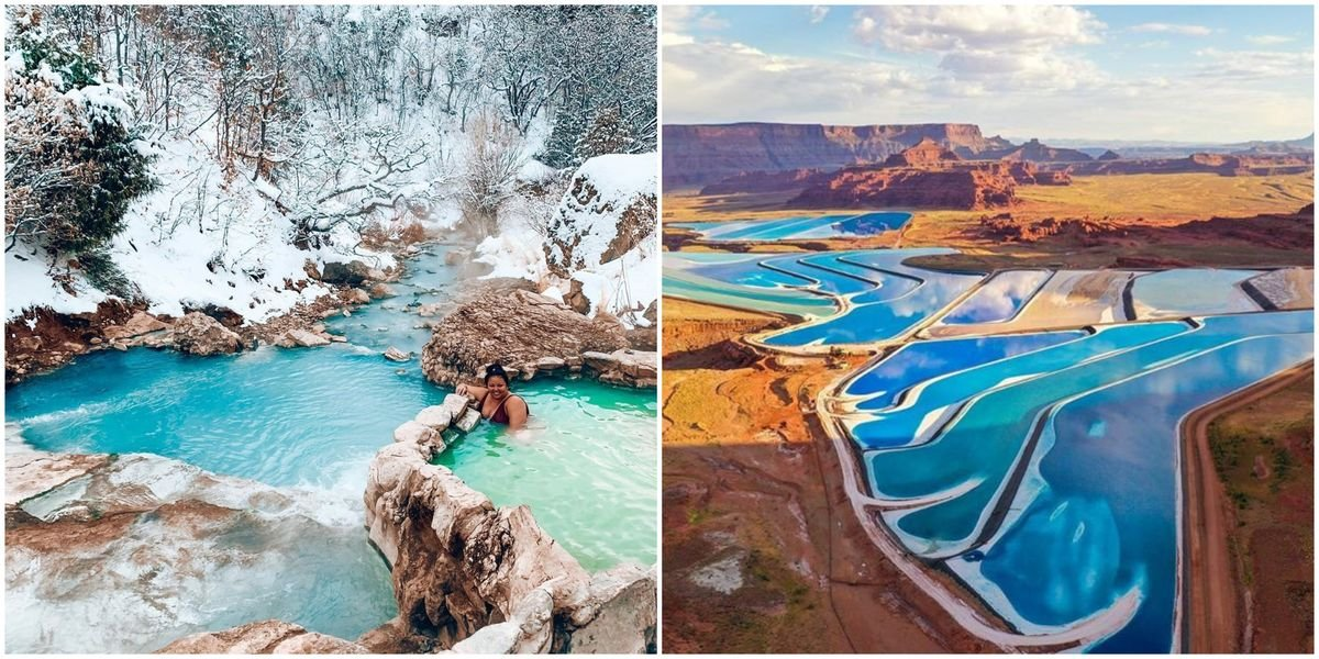 You Can See Amazing Blue Water In Utah At These Spots